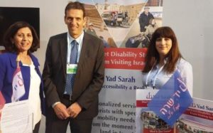 Tourism and Yad Sarah