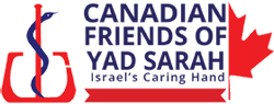 Canadian Friends of Yad Sarah Logo