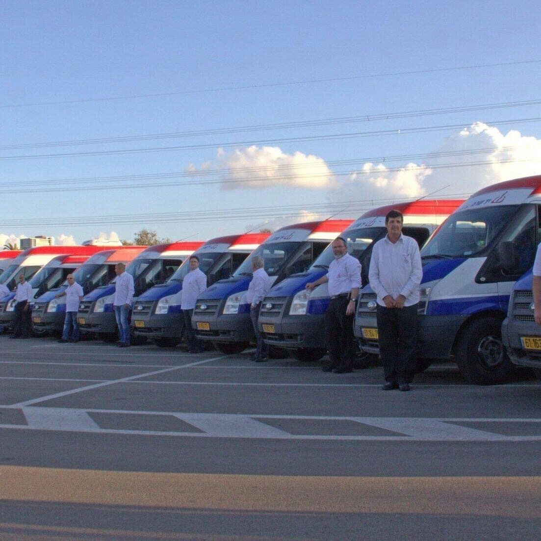 Fleet of Nechoniot Vans for the Disabled